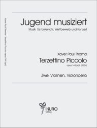 Xaver Paul Thoma (geb. 1953) Terzettino Piccolo op. 144 (xpt)