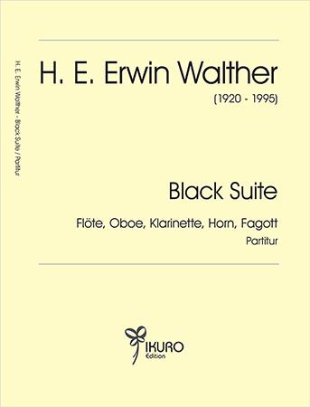 H. E. Erwin Walther (1920-1995)Black Suite – nach Blues und Spirituals (ca. 1963)