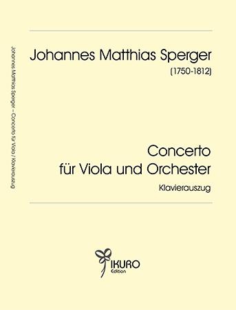 Johann Matthias Sperger | Concerto für Viola und Orchester