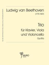 Ludwig van Beethoven (1770 - 1827) | Trio für Klavier, Viola, Violoncello Op. 81B