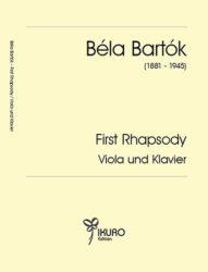 Béla Bartók | First Rhapsody Viola und Klavier