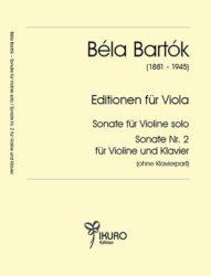 Béla Bartók | Editionen für Viola