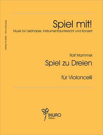 Rolf Mammel (1923 - 2010) Spiel zu Dreien (1995)