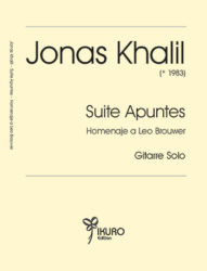Jonas Khalil  | Suite Apuntes für Gitarre Solo (2018)